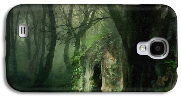 Digital Paintings Galaxy S4 Cases - Love Affair With A Forest Galaxy S4 Case by Georgiana Romanovna