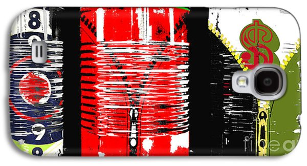 Financial Mixed Media Galaxy S4 Cases - Love and Abundance in the Can Galaxy S4 Case by Anahi DeCanio