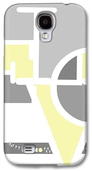 Ipad Design Galaxy S4 Cases - Love Geometric Typography Print Galaxy S4 Case by Anahi DeCanio