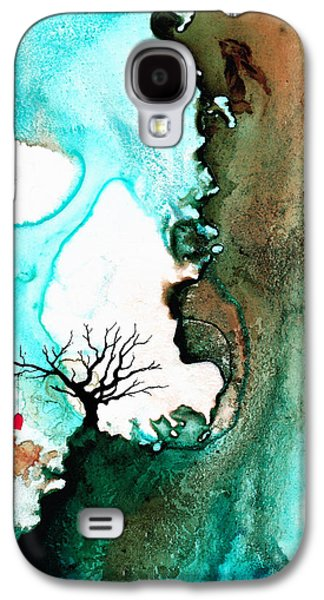 Earth Tones Galaxy S4 Cases - Love Has No Fear - Art By Sharon Cummings Galaxy S4 Case by Sharon Cummings