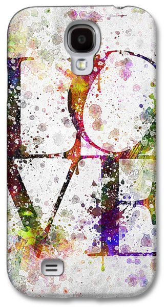 Slash Galaxy S4 Cases - Love in Color Galaxy S4 Case by Aged Pixel