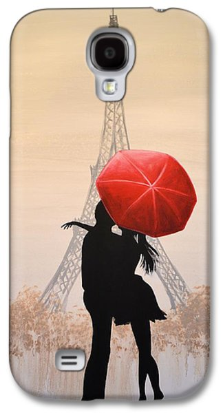 Love In Paris Galaxy S4 Case by Amy Giacomelli