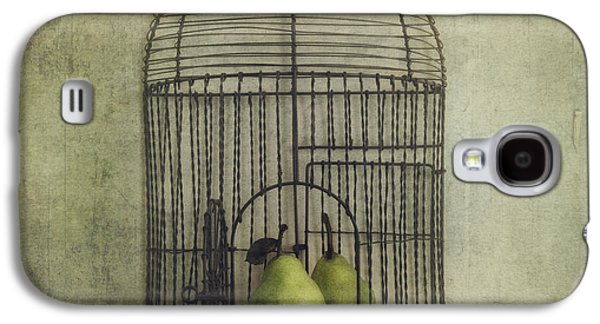 Digital Collage Galaxy S4 Cases - Love is the key Galaxy S4 Case by Priska Wettstein