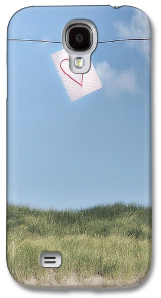 Sheet Galaxy S4 Cases - Love Letter From Cloud 9 Galaxy S4 Case by Joana Kruse