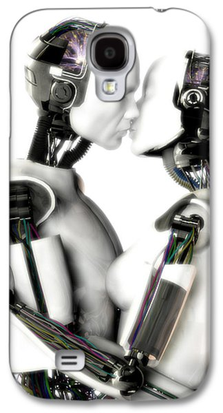 Frederico Borges Galaxy S4 Cases - Love machines - 1st base Galaxy S4 Case by Frederico Borges