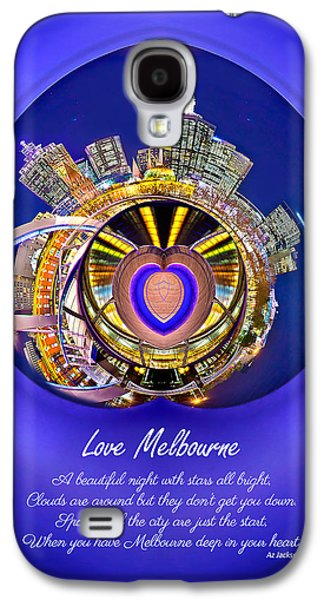 Poetry Galaxy S4 Cases - Love Melbourne Galaxy S4 Case by Az Jackson