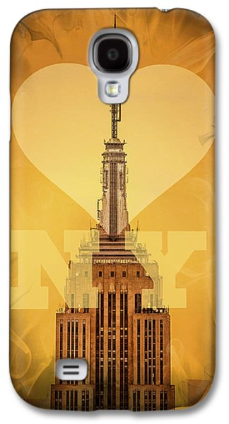 Love New York Galaxy S4 Case by Az Jackson