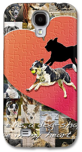 Dog Running. Galaxy S4 Cases - Love of Dogs--general version Galaxy S4 Case by Judy Wood