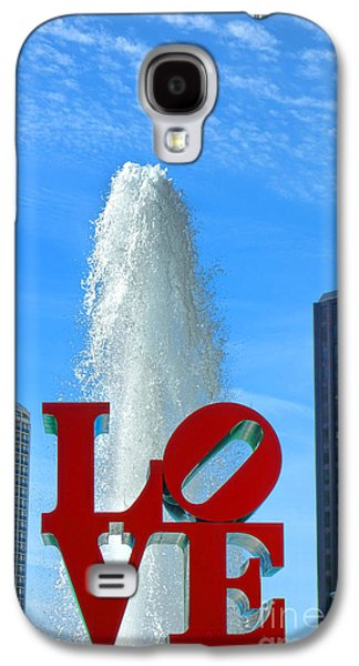 Phila Galaxy S4 Cases - LOVE Park Galaxy S4 Case by Olivier Le Queinec