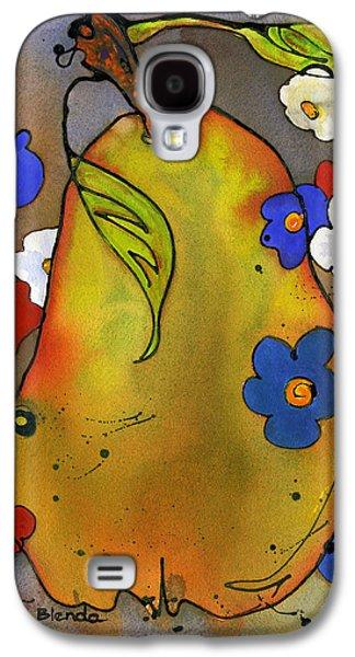 Patriotic Paintings Galaxy S4 Cases - Love Pear  Galaxy S4 Case by Blenda Studio