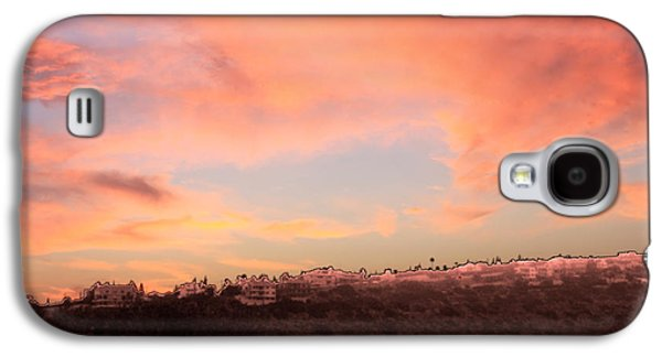 Amazing Sunset Galaxy S4 Cases - Love Sunset Galaxy S4 Case by Augusta Stylianou