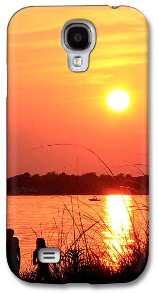 Orsillo Galaxy S4 Cases - Love You Galaxy S4 Case by Mark Ashkenazi