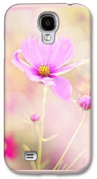 Pink Flower Galaxy S4 Cases - Lovechild Galaxy S4 Case by Amy Tyler