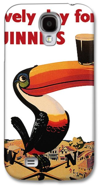 Dark Digital Art Galaxy S4 Cases - Lovely Day for a Guinness Galaxy S4 Case by Nomad Art And  Design