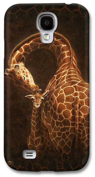 Animals Love Galaxy S4 Cases - Loves Golden Touch Galaxy S4 Case by Crista Forest