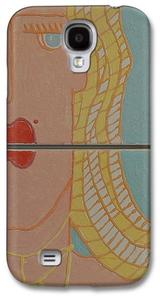 Portraits Ceramics Galaxy S4 Cases - Loving The Beach  Galaxy S4 Case by Art Mantia