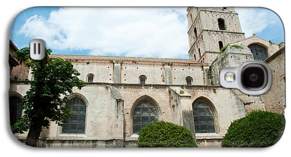 Arles Galaxy S4 Cases - Low Angle View Of A Bell Tower, Church Galaxy S4 Case by Panoramic Images