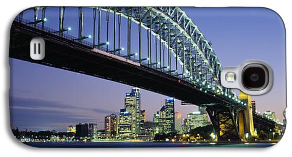 Bridge Galaxy S4 Cases - Low Angle View Of A Bridge, Sydney Galaxy S4 Case by Panoramic Images