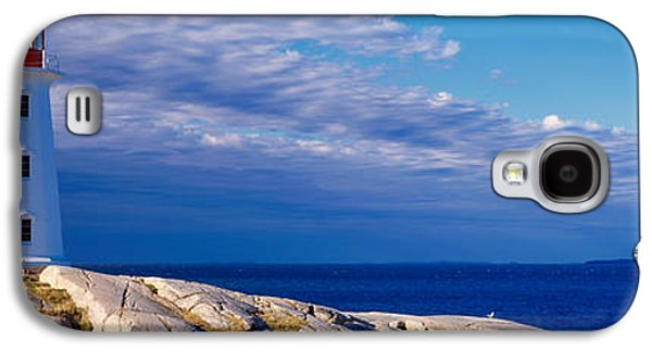 Urban Scenes Galaxy S4 Cases - Low Angle View Of A Lighthouse, Peggys Galaxy S4 Case by Panoramic Images