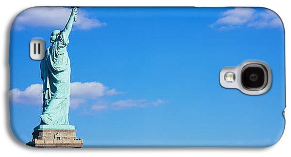Statue Galaxy S4 Cases - Low Angle View Of A Statue, Statue Galaxy S4 Case by Panoramic Images