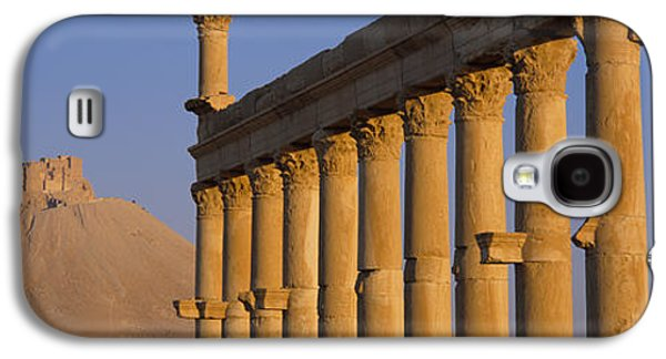 Ancient Galaxy S4 Cases - Low Angle View Of Great Colonnade Galaxy S4 Case by Panoramic Images