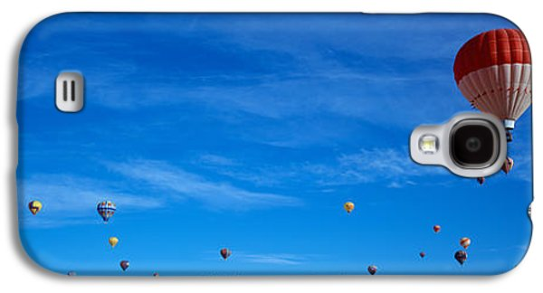 Helium Galaxy S4 Cases - Low Angle View Of Hot Air Balloons Galaxy S4 Case by Panoramic Images