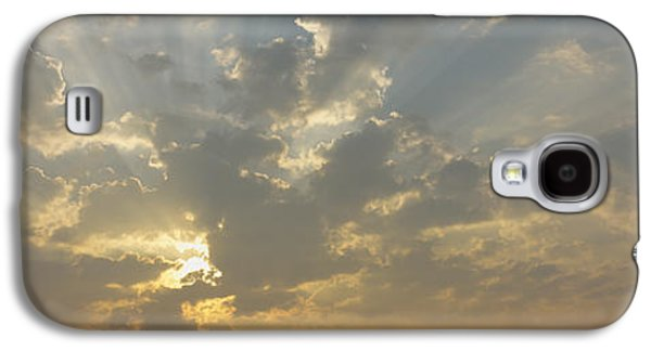 Emergence Galaxy S4 Cases - Low Angle View Of Sun Shinning Galaxy S4 Case by Panoramic Images