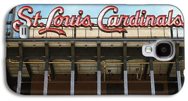 Sports Photographs Galaxy S4 Cases - Low Angle View Of The Busch Stadium Galaxy S4 Case by Panoramic Images