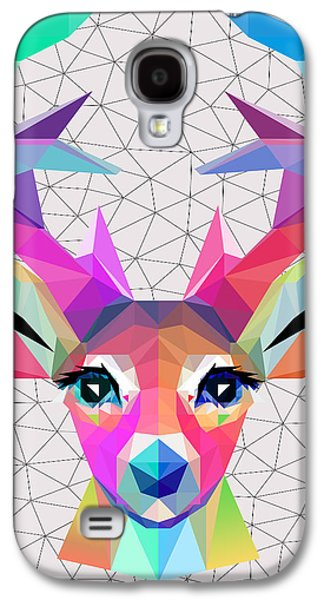 Animation Galaxy S4 Cases - Low Poly Art Galaxy S4 Case by Mark Ashkenazi