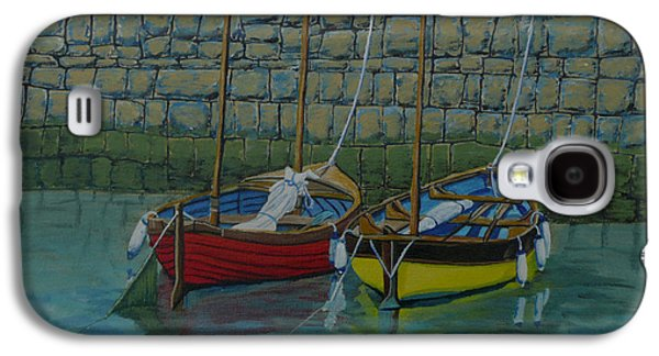 Alga Paintings Galaxy S4 Cases - Low Tide Galaxy S4 Case by Anthony Dunphy