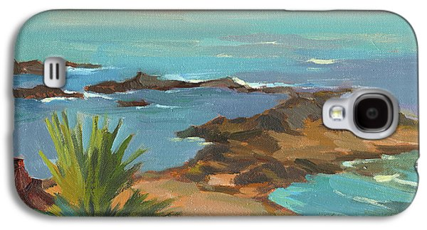 Change Paintings Galaxy S4 Cases - Low Tide Galaxy S4 Case by Diane McClary