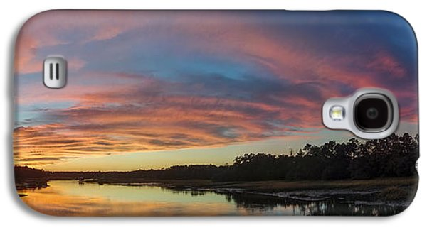 Amazing Sunset Galaxy S4 Cases - Lowcountry Sunset Charleston SC Galaxy S4 Case by Dustin K Ryan