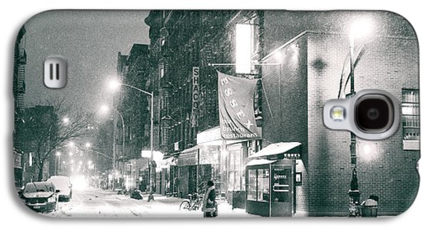 Winter Night Galaxy S4 Cases - Lower East Side - Winter Night - New York City  Galaxy S4 Case by Vivienne Gucwa