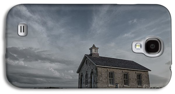 School Houses Galaxy S4 Cases - Lower Fox Creek School  Galaxy S4 Case by Keith Kapple