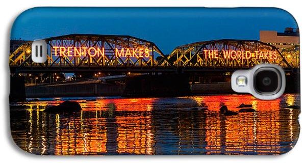 Lower Trenton Bridge Galaxy S4 Case by Louis Dallara
