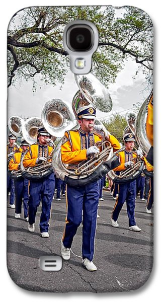 Louisiana State University Photographs Galaxy S4 Cases - LSU Marching Band 2 Galaxy S4 Case by Steve Harrington