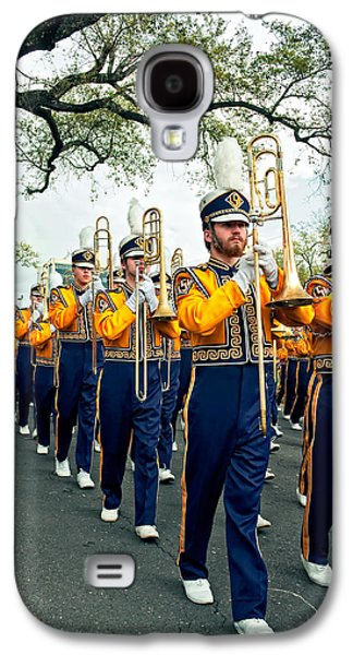 Louisiana State University Photographs Galaxy S4 Cases - LSU Marching Band 3 Galaxy S4 Case by Steve Harrington