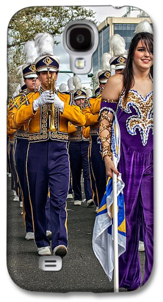Louisiana State University Photographs Galaxy S4 Cases - LSU Marching Band 5 Galaxy S4 Case by Steve Harrington
