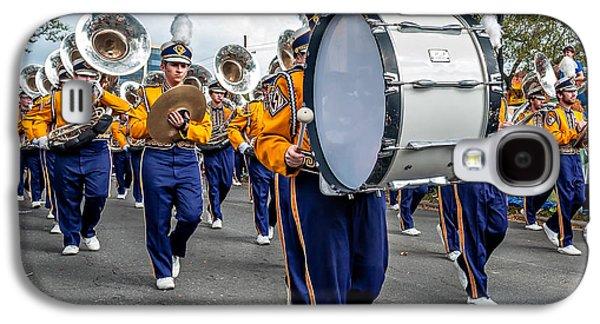 Louisiana State University Photographs Galaxy S4 Cases - LSU Tigers Band 3 Galaxy S4 Case by Steve Harrington