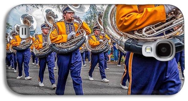 Louisiana State University Photographs Galaxy S4 Cases - LSU Tigers Band Galaxy S4 Case by Steve Harrington