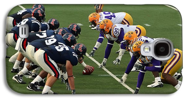 Louisiana State University Photographs Galaxy S4 Cases - LSU versus Ole Miss 2007 Galaxy S4 Case by Mountain Dreams