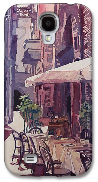 Lucca Cafe Galaxy S4 Case by Jenny Armitage
