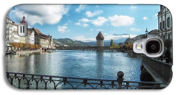 Lucerne Galaxy S4 Cases - Lucerne in Autumn Galaxy S4 Case by Mountain Dreams