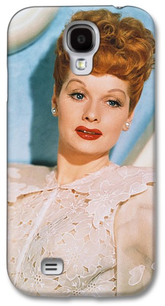 Best Sellers -  - Studio Photographs Galaxy S4 Cases - Lucille Ball in Lover Come Back Galaxy S4 Case by Nomad Art And  Design
