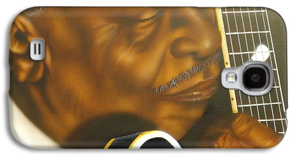 The Kings Paintings Galaxy S4 Cases - Lucille Galaxy S4 Case by Darren Robinson