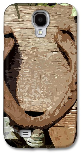 Good Luck Galaxy S4 Cases - Lucky Horseshoe Galaxy S4 Case by Patrick J Murphy