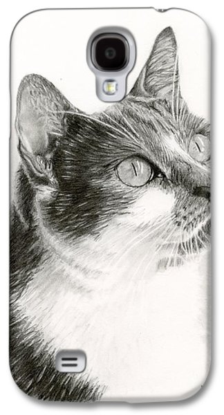 Drawing Galaxy S4 Cases - Lucy Galaxy S4 Case by Sarah Batalka