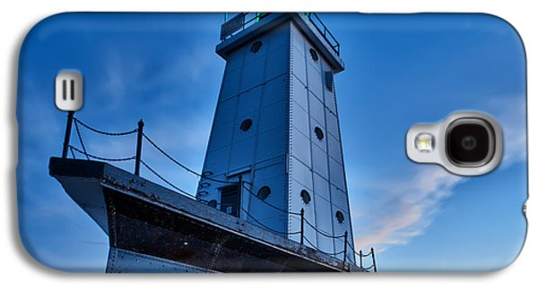 Michigan Galaxy S4 Cases - Ludington Lighthouse Galaxy S4 Case by Sebastian Musial