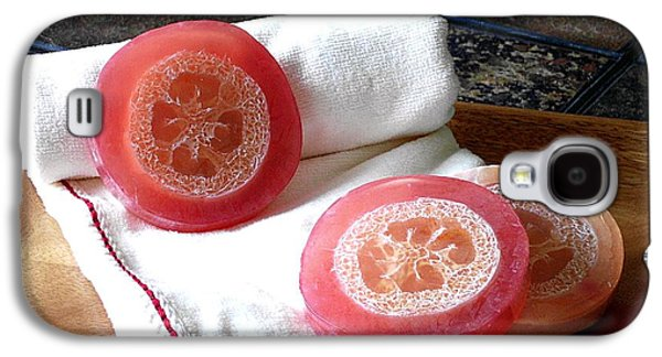 Handmade Galaxy S4 Cases - Luffa Red Soap Galaxy S4 Case by Anastasiya Malakhova