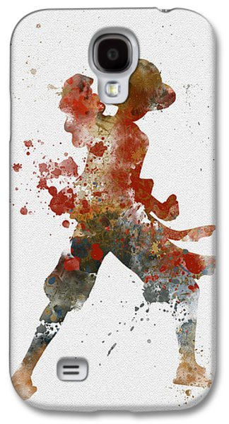 Animation Galaxy S4 Cases - Luffy Galaxy S4 Case by Rebecca Jenkins